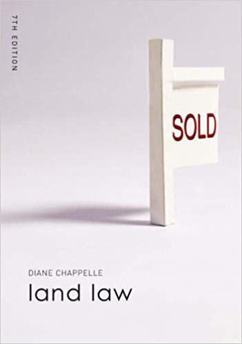 Book Land Law (Foundation Studies in Law Series)