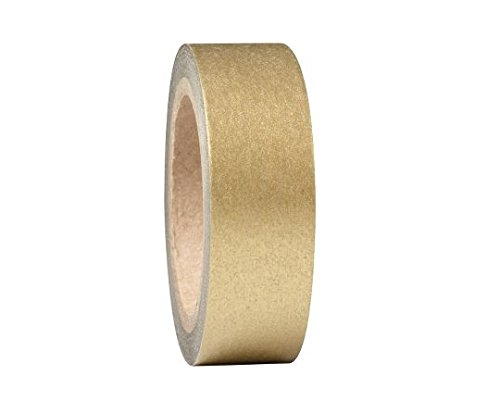 15FT Gold Brass Foil Tape 1/4