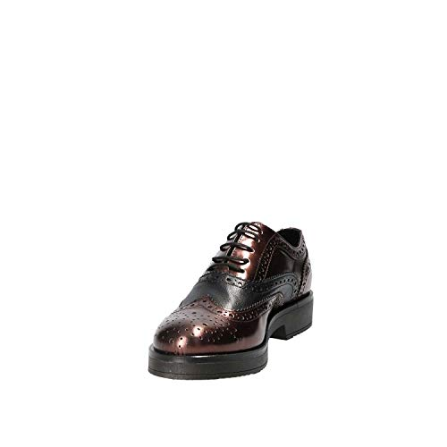 Marròn 36 Casual Zapatos 4704s Mujeres Mally qAwI6Fxw