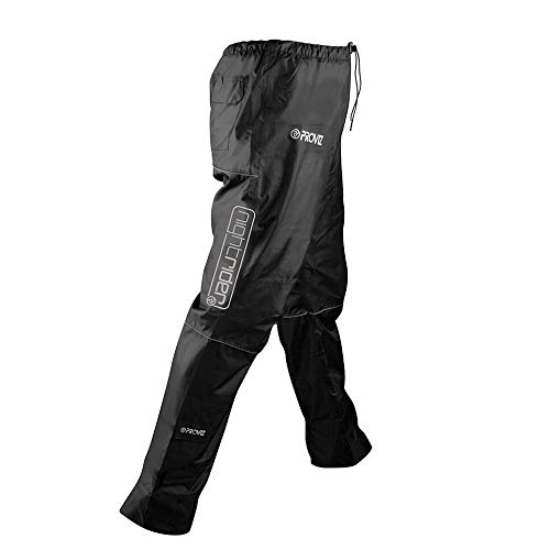 Proviz Nightrider Waterproof Trousers, Black, Men's Large
