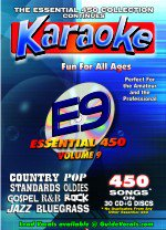 Chartbuster Essential 450 Collection Vol. 9 - 450 MP3G's on SD Card - Chartbuster Essential 450 Collection