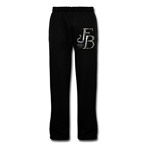 DHome Men's Running Pants Fantastic Them FB Beast Black 3X -
