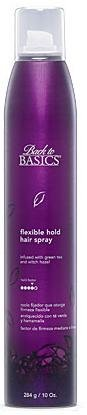 Back to Basics Flexible Hold Hair Spray 10 Oz (6 Pack) by Back to Basics