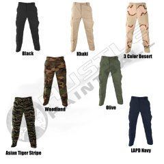 3 Color Desert Camo Pants - 6