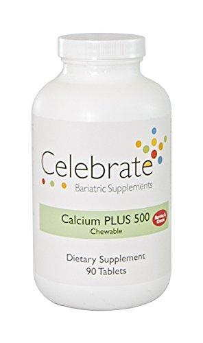 Celebrate Calcium Plus 500 Berries N' Cream 90 Count ()