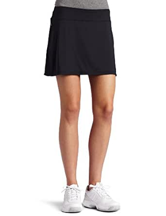 Skirt Sports Gym Girl Ultra Skirt with Athletic Shorts, Black, XX-Small