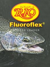 Rio Brands Rio Fly Fishing Saltwater 9' 16lb Fishing Leaders, Clear