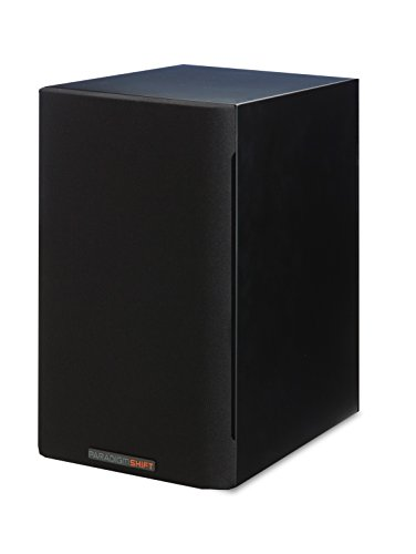 Paradigm Shift A2 Bookshelf Speaker (Storm Black Satin) (Paradigm Shift Speakers)