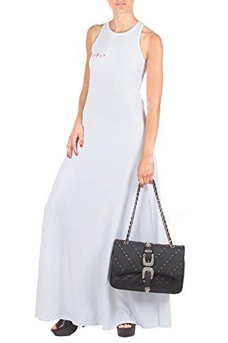Damen Weiß Bianc Farbe A471 Merci Kleid Bianco Abito