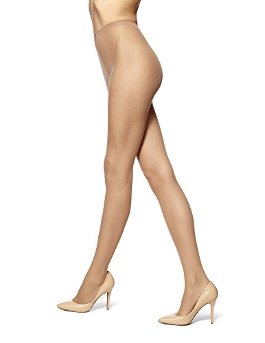 - No Nonsense Women's Waist Pantyhose with Sheer Toe, Tan, Plus