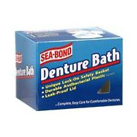 Sea Bond Denture Bath (DENTURE BATH BRIMMS)