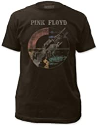 Pink Floyd Men's Wish You Were Here Slim Fit T-shirt Coal