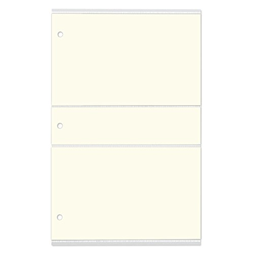 (Gallery Leather Slim Line Album Photo 4x6 Pocket Refill w/Memo)