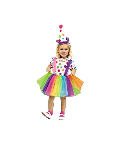 BIG T (Toddler Rainbow Clown Costumes)