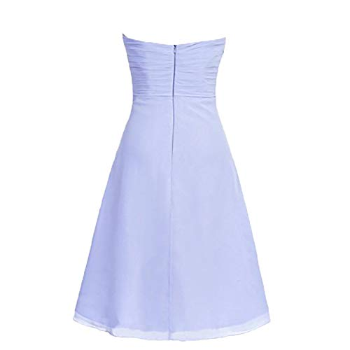 Abendkleider Brautjungfernkleider Mini Damen Einfach Charmant Kurz Chiffon Grün Cocktailkleider Partykleider qwFXqE0