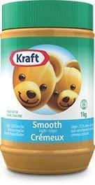 Kraft Peanut Butter (Smooth Light Peanut Butter, 1 KG)