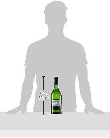 Croft Original Pale Cream - Vino D.O. Jerez - 3 Botellas de 750 ml - Total: 2250 ml