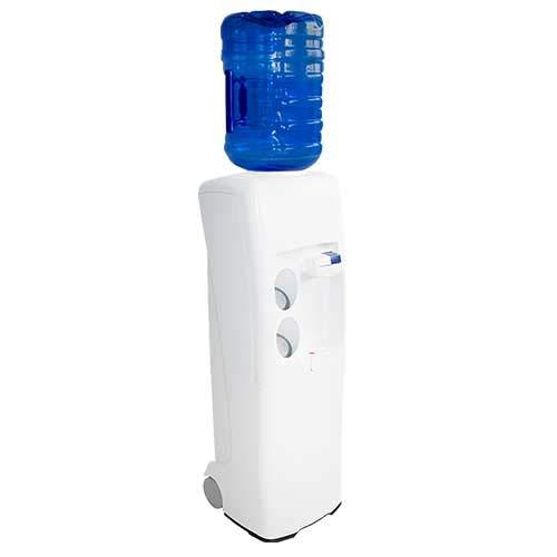 Dispensador Agua, Fuente EMAX de botellón, Blanca. Agua fría y Natural. Mejor Sistema de higienización del Mercado. Maquina de Agua Fria y Natural, ...