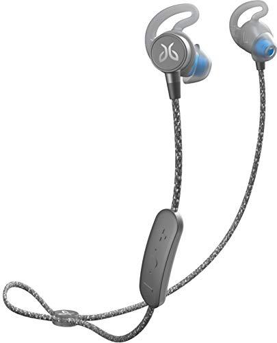 Logitech Sweat and Waterproof Jaybird Tarah Pro Wireless Sport Headphones (Titanium/Glacier)