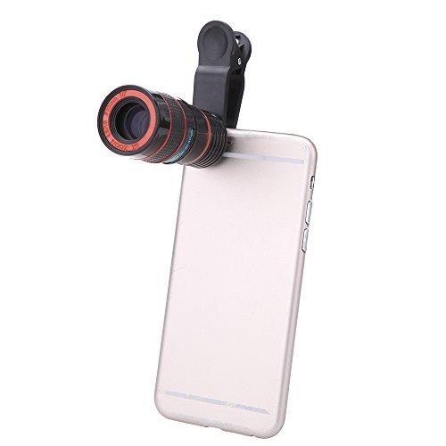 Universal Telephoto Magnifier Detachable Smartphones