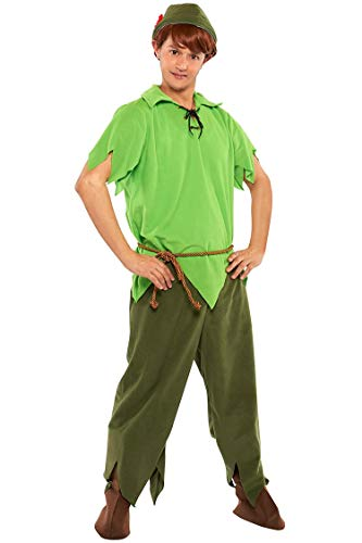 Rubie's Costume Disney Classic-Style Peter Pan Costume - Teen/Men's S/M Costume