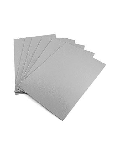 EVA Foam Sheets / 10 pcs per Pack of The Same Color/Perfect for Art Projects, School Projects and More, These Rectangular Sheets are an Easy Way to Stock up on Craft Basics (Gray)