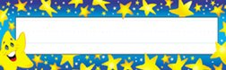 TREND ENTERPRISES INC. T-69003 DESK TOPPERS SUPER STARS 36 PACK 2 X 9 ()