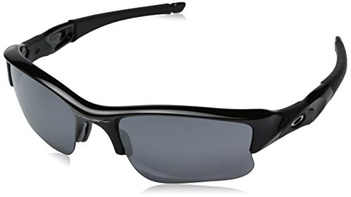 Oakley Men's Flak Jacket Non-Polarized XLJ Sunglasses,Jet Black Frame/Black Lens,one - Shades Oakley