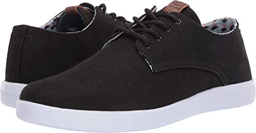 Ben Sherman Men's Parnell Oxford, Black/Multi 13 M US