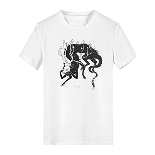 Papa Family Matching T-shirt Legend Monster Print Short Sleeve T-shirts Minimalist Novelty Family T-shirts for Daily Wearing