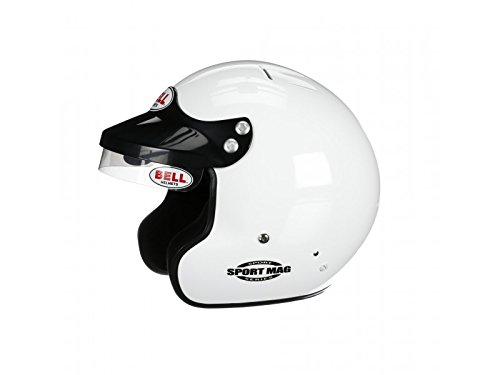 Bell Racing SPORT MAG WHITE SMALL (57) SA2015 V.15 BRUS HELMET