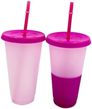 TIAS Taza de café mágica de plástico que cambia de color, con ...
