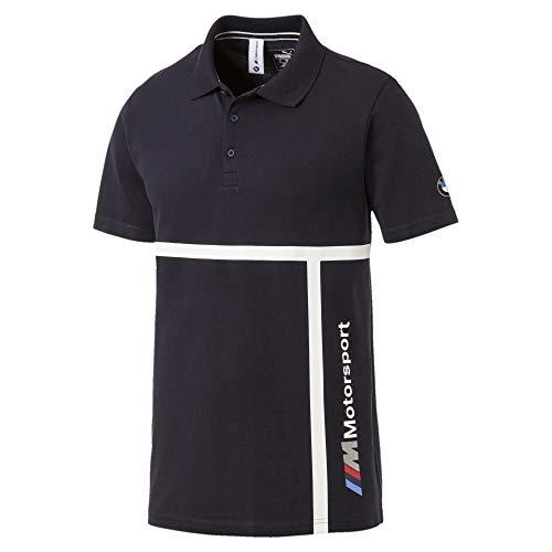 (PUMA Men's BMW MMS Polo Shirt Team Blue Small)