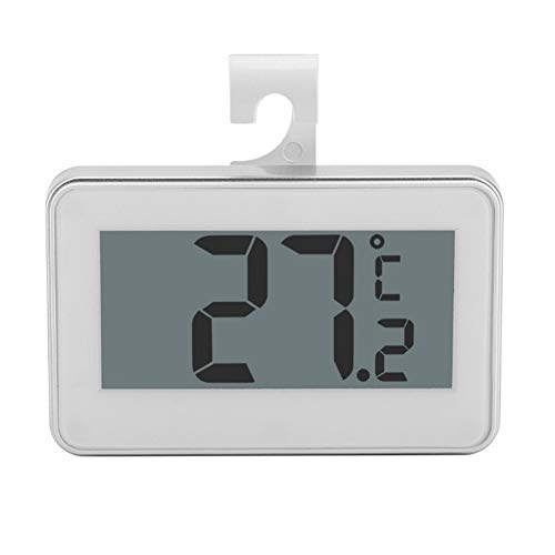 - Large LCD Refrigerator Thermometer Fridge Freezer with Adjustable Stand Magnet Digital Thermometer