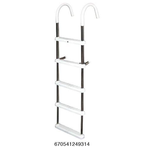 UPC 670541249314, JIF Marine Products Folding Pontoon Ladder, 4 DUG