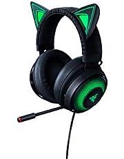 Razer RZ04-02980100-R3M1 Kraken Kitty Chroma USB Gaming Headset, Black