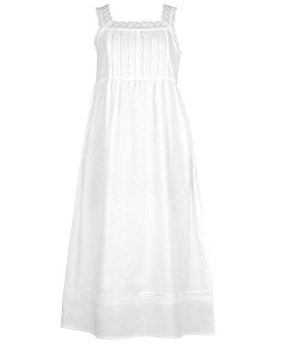 Cotton Lane - Chemise de nuit - Sans Manche - Femme