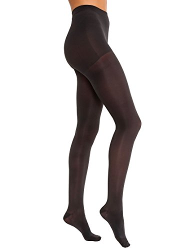 BSN Medical 115221 Jobst Opaque Compression Hose, Waist High, 15-20 mmHg, Closed Toe, Medium, Classic Black ()