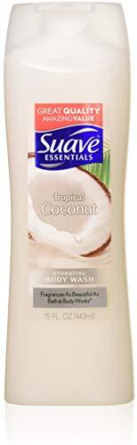 (Suave Essentials Body Wash, Creamy Tropical Coconut, 15 oz, pack of 6)