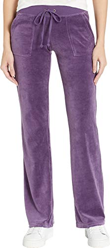 Juicy Couture Women's Del Rey Velour Pants Extracurricular Petite/X-Small 30