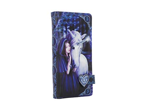 Solace Embossed Purse by Anne Stokes