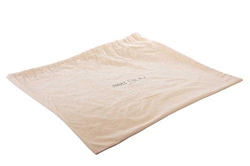 Jimmy Choo pochette donna in pelle con tracolla nuova originale ava oro