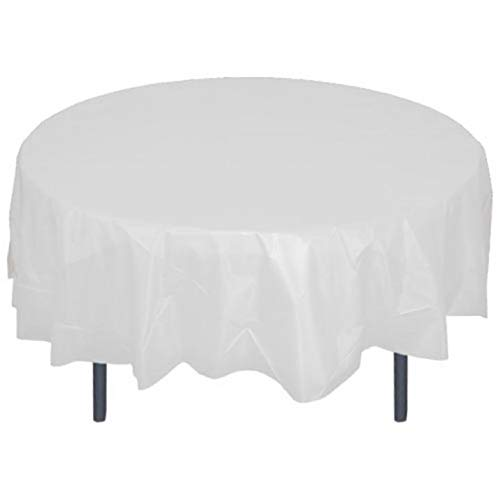 - Mountclear 12-Pack Disposable Plastic Tablecloths - 84
