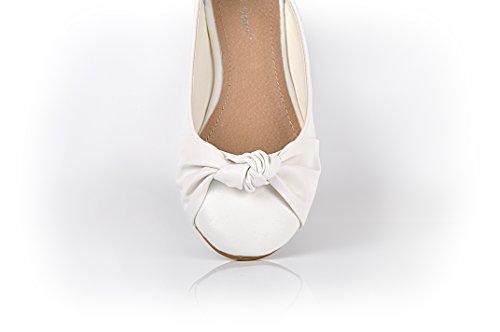 Maggie's Boutique , Ballerines pour fille Blanc Off White