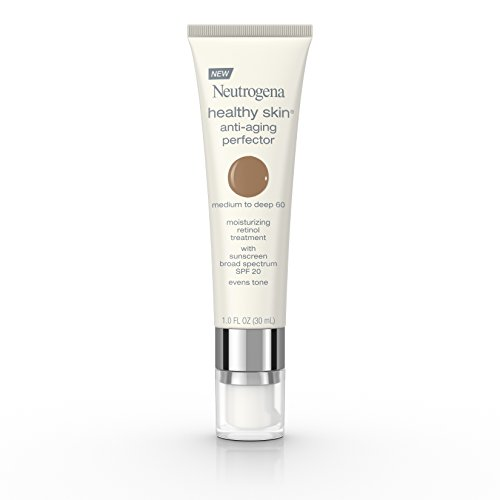 Neutrogena Healthy Skin Anti-Aging Perfector Spf 20, Retinol Treatment, 60 Medium To Deep, 1 Fl. Oz.