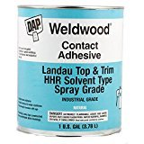 (Dap Weldwood Contact Adhesive - Landau Top and Trim HHR Solvent Type Spray Grade 1 Gallon)