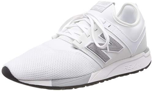 Balance Sneaker Uomo white New silver 247v2 Om Bianco EqdREaxz