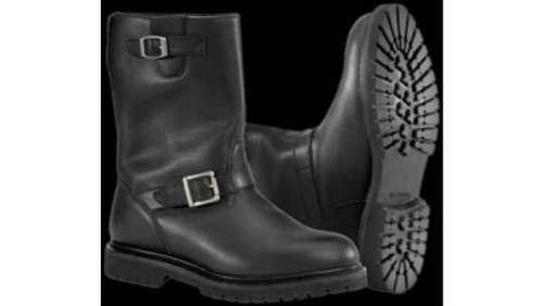 NEW RIVER ROAD MENS BOULEVARD LEATHER WATERPROOF BOOTS, BLACK, -