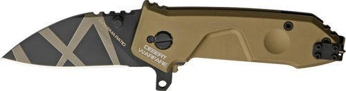 Extrema Ratio Knives 133NFODW Desert Warfare Finish Small Folder Knife by Extrema Ratio