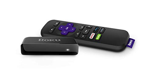 Roku Premiere | HD/4K/HDR Streaming Media Player with Simple Remote and Premium HDMI Cable (Renewed), Black (Best Streaming Service For Roku)